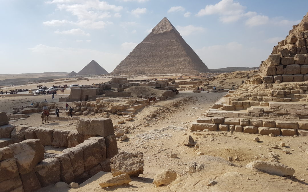 Cairo- Touring the Great Pyramids in Giza