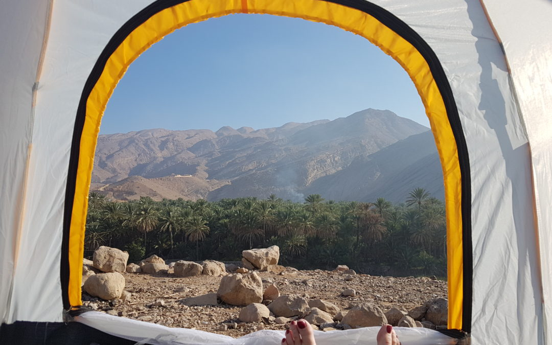 48 Hours in Oman with Wadis, Camping, Castles in Wadi Bani Khalid